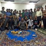 LMR Kecamatan Tampan Berfoto bersama Ketua DPP LMR Riau T Effendi