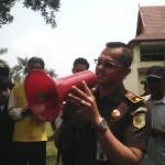 Kasi Bagian Intelijen Denny AP ucapkan Terimakasih atas Apresiasi Kepada Pendemo dalam mengawal Kinerja Kejati Riau
