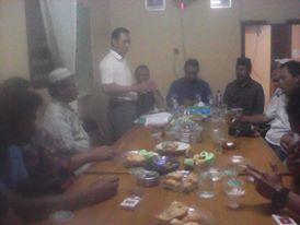 Kadiskop Ingot Ahmat Bersama H Darnil saat pembentukan Koperasi IKBBR (foto.kl)