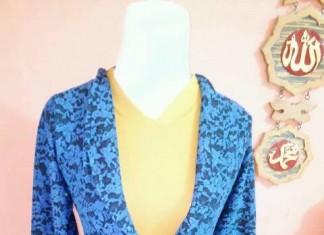 Baju Syar'i hasil karya belajar menjahit dari otodidaks