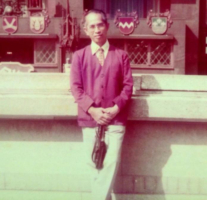 Alm. H. Tengku Arif , SH Semasa Muda Beliau (foto. Doc)