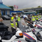 Kombes Pol Guritno Wibowo, SH. SIK. MSi , mencoba Persiapan Motor Polisi. (rls)