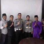 kasatlantas Pekanbaru Kompol Budi Setiawan SIK MIK tetap Kompak Dengan Pengurus KP2L (foto.dok)
