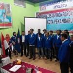 Suasana Pelantikan Pengurus DPD K SPSI Riau. (foto:M.Nasir)