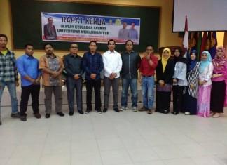 Ketua IKA UMRI Bersama Wakilrektor III dan Pengurus Lainnya. (foto:Lex)