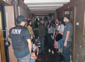 foto;enam lokasi yang jadi target, diantaranya Paragon Ktv, MP Club, Sago Ktv di Hotel Furaya, Starcity, tempat Karaoke di Hotel Grand Central serta Terminal 8 (Biliar)