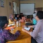 Pengurus ICMI Muda Pekanbaru sedang rapat Persiapan Seminar Nasional. (foto:mer)