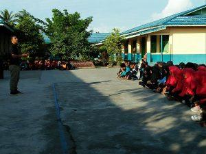Puluhan Siswa MAN Selatpanjang ZMengikuti Sosialisasi Komunitas Pena KElana Indonesia. (foto:Zan)