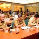Wabup Ikuti Rakor Karlahut Bersama Gubernur dan Forkopimda Riau