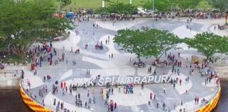 foto: Kota Siak Jadi Tempat Liburan Favorit Tahun Baru 2017 di Riau Suasana Kota Siak Sri Indrapura yang ramai