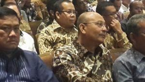 Foto:Bupati Meranti Ikuti Acara Penyerahan LHE AKIP Pemerintah Kabupaten Kota