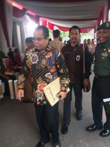 Cegah Karlahut 2017, Bupati Irwan Ikuti Rakornas di Istana Negara