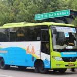"""foto:penggunaan bus kecil yang sebelumnya digunakan tidak memiliki anggaran dalam pengoperasiannya"""". Tegasnya Kepada Haluanpos.com Saat di temui di kantor, kamis (05/01/2017) (Foto:Fuad)"""