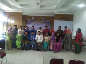 Foto: foto bersama acara serah terima jabatan camat payung sekaki (foto:Fuad)