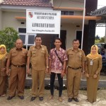 Foto : Foto bersamaKepala Lurah Tuah Madani Kota Pekanbaru (Foto:Yoga)