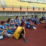 Foto:PSPS Pekanbaru terus melakukan seleksi pemain