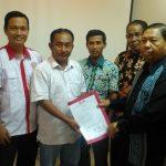 Foto;PIKA Provinsi Riau Serahkan mandat kepengurusan DPC Kab.Kampar