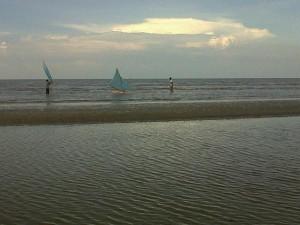 Foto:Pantai selat baru