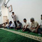 Camt Tampan Nurhasminsyah Memberikan Sambutan Pembentukan Pengurus LPM K Tuah Madani. (foto:Kin)