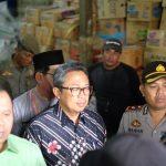 Bupati Meranti Drs. H. Irwan M.Si bersama Wakil Ketua DPRD Riau H. Sunaryo