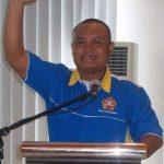 Ketua Karang Taruna Kecamatan Rumbai, Suhartoni