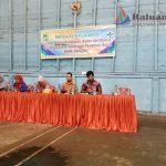 Dari kanan ke kiri Dr Agus.Hasan Sos.MM drg Hairani Lubis. Siti Rukijah Skm.Nenny Desiana. (foto:aril)