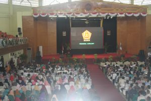 Ribuan generasiMuda Mendengarkan Pidato panglima TNI. (Foto.sar)