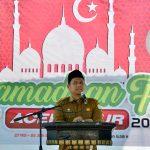 Sekda Buka Acara Festival di Ramadhan Fair