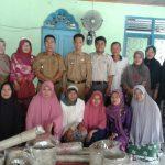 Camat Rumbio Jaya Kunjungi KUBE-PKH