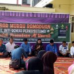 Merry Maryati, director of export industry sedang Memberikan kata Sambutan di hadapan Ratusan Ibu ibu