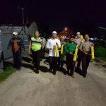 Wakapolresta Pekanbaru bersama rombongan dalam program religi