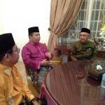 Bupati Irwan Nasir, akrab bersama Gubernur Riau