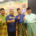 H Irwan Nasir Calon Gubernur Riau Foto Bersama Bupati Inhil HM Wardan dan Pejabat Lainnya
