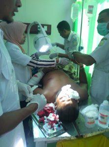 Korban Pembacokan (Scurity) PT.Medco E&P Malaka
