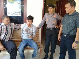 Polisi Ciduk Pelaku Pembacokan surity PT.Medco E&P Malaka
