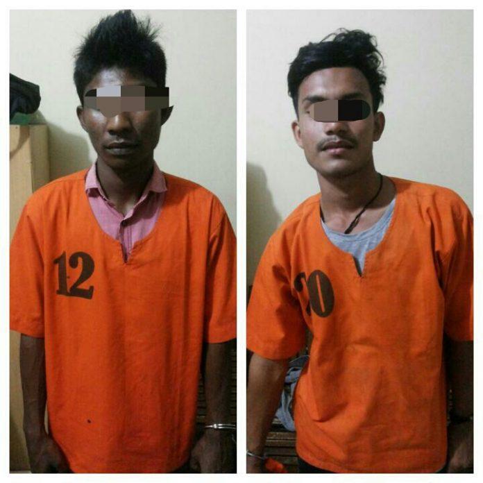 Dua Tersangka Penculik Bidan Di Puskemas Muara Satu Lhokseumawe