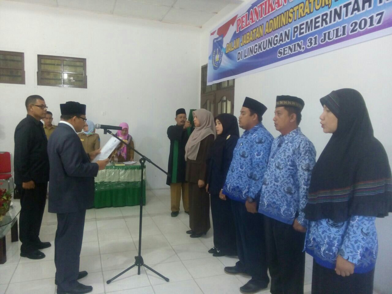Proses Pelantikan Direktur Rumah Sakit Umum Daerah Kota Langsa