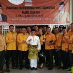 H Harris Usai Pendaftaran di Hanura Riau