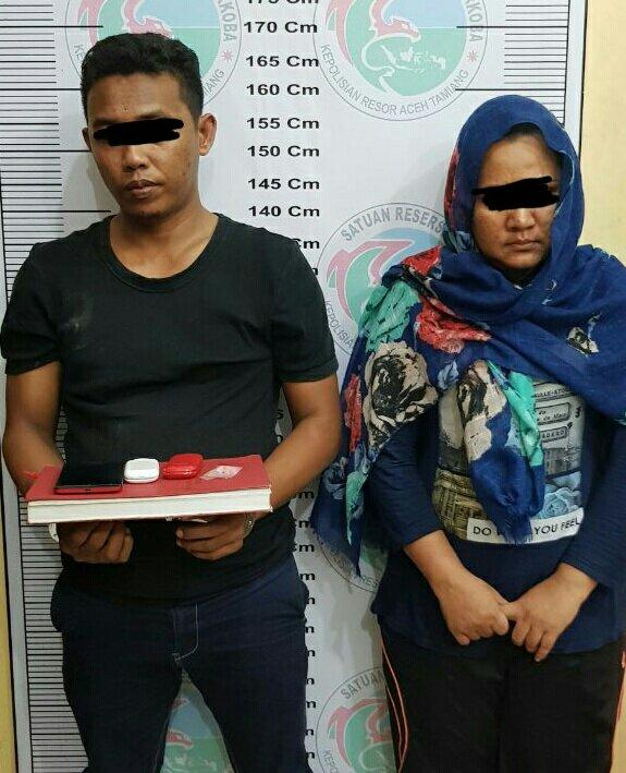 Dua Tersangka Penggedar Pil Ekstasi di Aceh Tamiang
