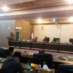 Suasana di DPRD kabupaten Meranti