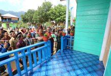 Proses peresmian Sekolah Swasta Diperdalaman Oleh Wadan Pusterad Diperdalaman Aceh Timur Foto: Istimewa