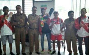 Para atlit terbaik dari Riau