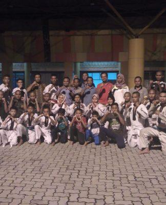 atlit cabor bersama pelati dan anggota KONI Kota Pekanbaru