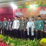 Bupati Irwan Nasir saat Melantik Pengurus IPMK2M Pekanbaru