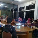 Suasana Pembentukan Pengurus FPRM Marpoyan Damai, disaksikan Pak Camat (foto:Shalikin)
