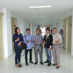 Anggota DPRD Pekanbaru H Darnil ketika foto Bersama di RS Budi Mulya
