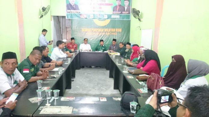 KPU dan Bawaslu Riau bersama Pengurus PBB Riau sedang dalam Proses Verifikasi