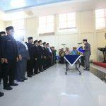 Sekda Meranti saat Mentik Pejabat Eselon IV di Lingkungan Pemkab