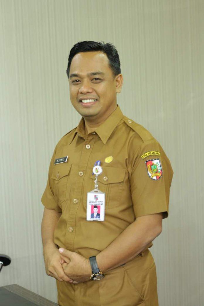 Kepala DPM-PTSP Pekanbaru, M Jamil