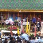 Rinaldi ketika Menyampaikan Orasi di dalam Ruang sidang Paripurna DPRD Riau